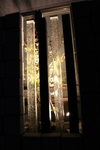019埼玉県川口市W様邸・ガラス柱2