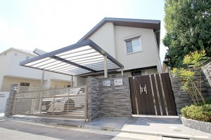 施工事例・リフォーム:門まわり・アプローチ・車庫・カーポート