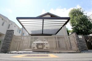 施工事例・リフォーム:車庫・カーポート